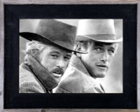 9x12 Western Picture Frame, 3 inch Wide, Butch Cassidy Frame