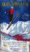 Nostalgic Vintage Ski Lodge Signs