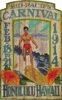 Vintage Beach Surf Shop Signs