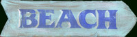 Vintage Beach Signs - Arrow