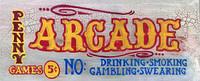 Vintage Sign - Arcade