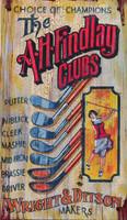 Nostalgic Golf Signs - Findlay Clubs