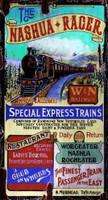 Vintage Railroad Signs - Nashua Racer