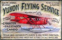 Vintage Aviation Signs - Yukon Flying Service