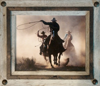 Hobble Creek Rustic Frame with Tacks