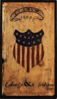 Vintage Signs Americana - Distressed Natural Wood Patriotic Sign