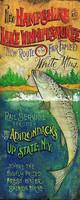 Vintage Signs - White Mountain Lake Fishing
