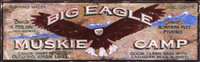 Vintage Sign - Rustic Camp Lodge