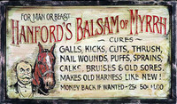 Vintage Doctor Signs - Humorous Medical Treatment Sign