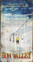 Vintage Ski Resort Signs - Custom Nostalgic Skiing Sign