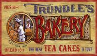 Nostalgic Vintage Bakery Signs - Primitive Kitchen Sign