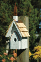 Classic Chapel Bird House.