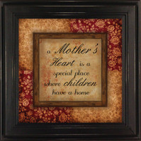 A Mothers Heart Is a Special Place - Framed Quote