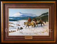 Where Poor Men Are Rich - Western Art Print by Clark Kelley Price, 22x30
