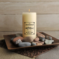 Personalized Walleye Cabin Candle