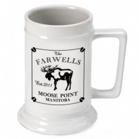 Personalized Moose Stein