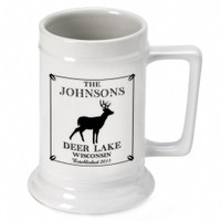 Personalized Deer Stein