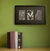 Personalized Architectural Name Frame II