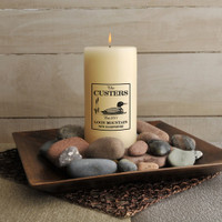 Personalized Loon Cabin Candle