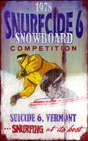 Vintage Signs - Snowboard