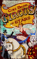 Vintage Circus Sign - Circus Rider