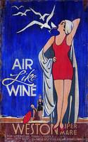 Vintage Sign - Air Like Wine Nostalgic Advertising Sign