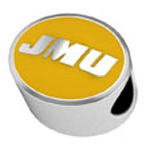 James Madison University Enamel Bead