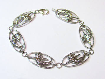 Sterling Mermaid new link bracelet
