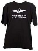 Parklands T-Shirt Soviet Airlines Black