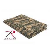 Rothco Camo Fleece Blanket Acu Digital Camo