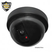 Streetwise Dome Dummy Camera w/ LED light