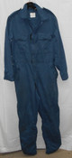 Canadian Forces Surplus Zip-Up Work Coveralls - Blue