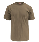 CFS Crew Neck Athletic Shirt Tan - Large - New