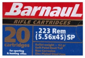Barnaul 55 Grain 223 Rem SP 500 Rounds