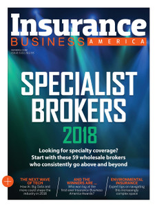 2018 Insurance Business America February issue (available for immediate download)
