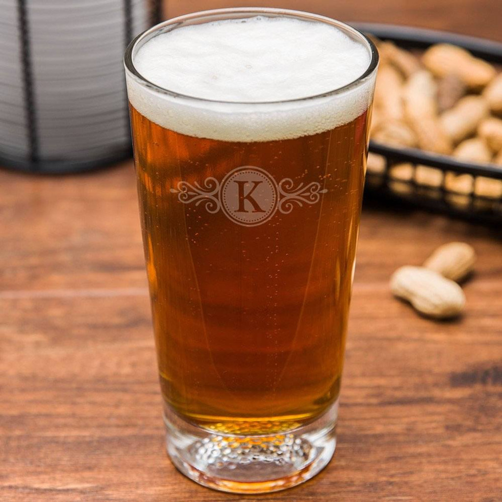 Wilshire Personalized Golf Beer Glass