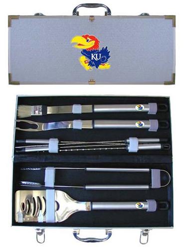 Kansas Jayhawks BBQ Tool Set