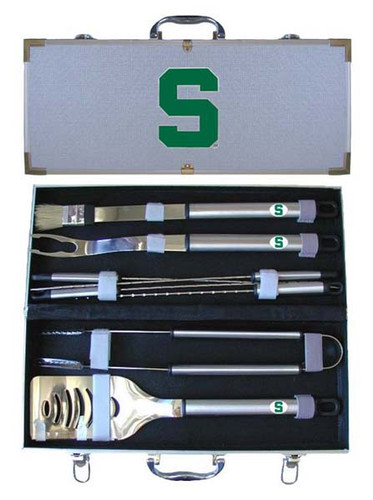Michigan State Spartans BBQ Tool Set