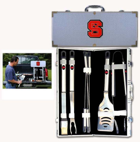 NC State Wolfpack BBQ Tool Set