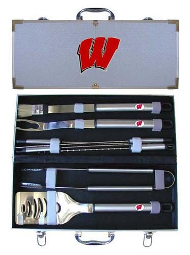 Wisconsin Badgers BBQ Tool Set
