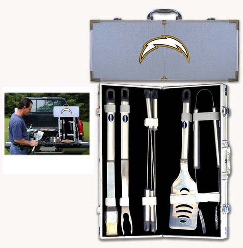 San Diego Chargers BBQ Tool Set