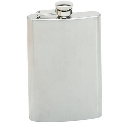 8 oz Personalized Stainless Steel Flask