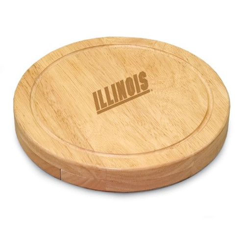 Illinois Fighting Illini Engraved Cutting Board
