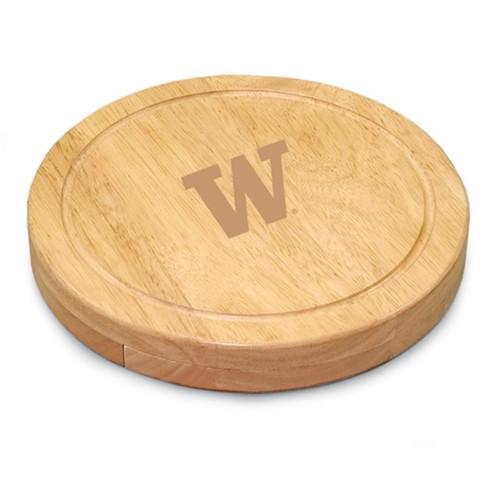 Washington Huskies Engraved Cutting Board