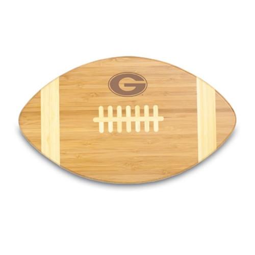 Georgia Bulldogs Engraved Football Cutting Board