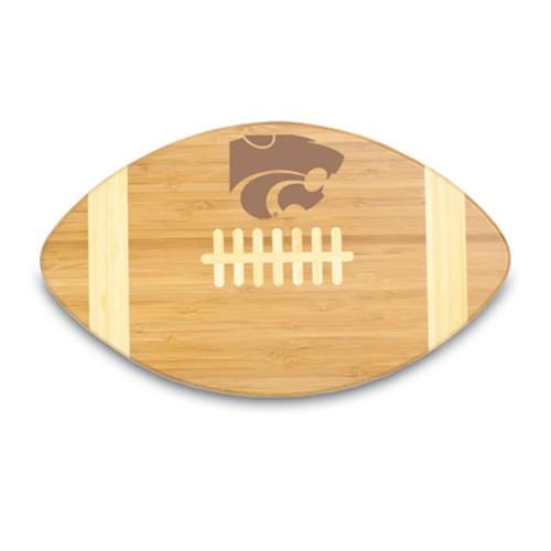 Kansas State Wildcats Engraved Football Cutting Board