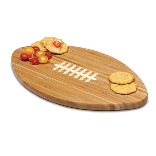 Nebraska Cornhuskers Engraved Football Cutting Board