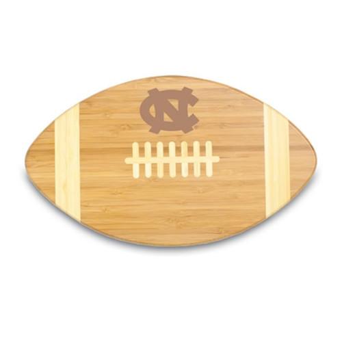 North Carolina Tar Heels Engraved Football Cutting Board