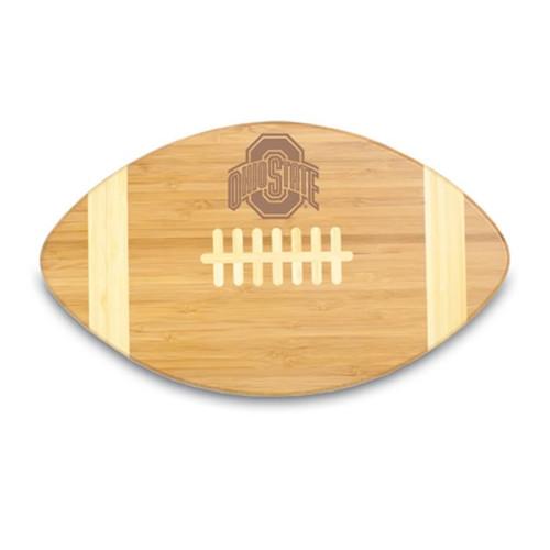 Ohio State Buckeyes Engraved Football Cutting Board