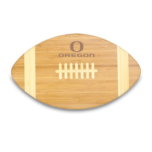 Oregon Ducks Engraved Football Cutting Board